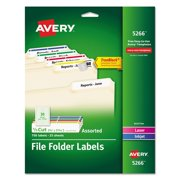 Filing Label (5266) -, Manufacturer: Avery By Avery,USA