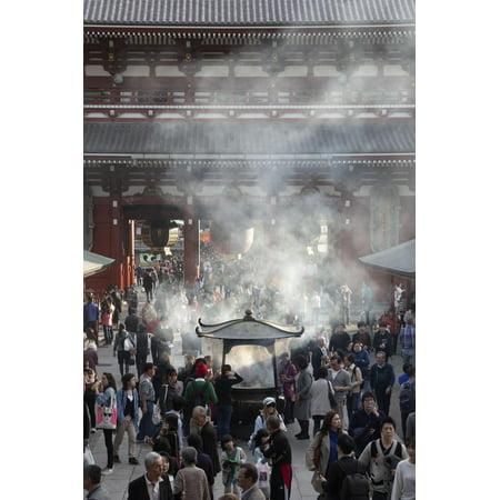 Senso-Ji, Ancient Buddhist Temple, Asakusa, Tokyo, Japan, Asia Print Wall Art By Stuart