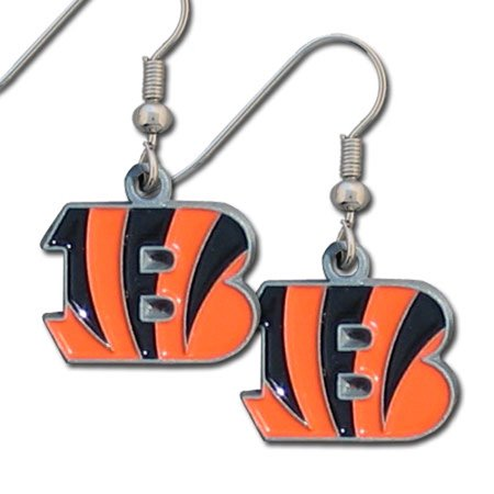 Cincinnati Bengals Official Nfl Dangle Earrings By Siskiyou 090110