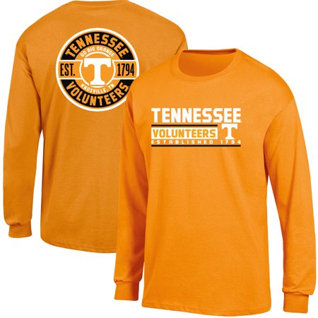 Men's Russell Tennessee Orange Tennessee Volunteers Back Hit Long Sleeve