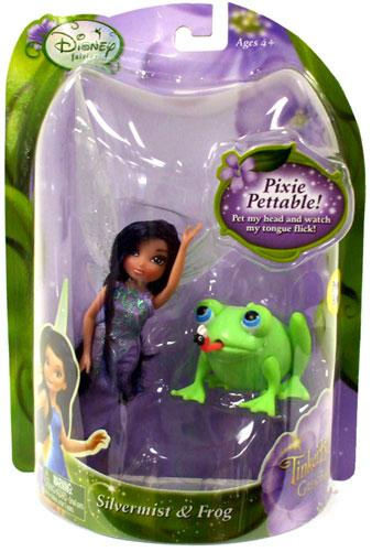 Disney Fairies Tinker Bell & The Great Fairy Rescue Silvermist & Frog Figure 2-Pack by
