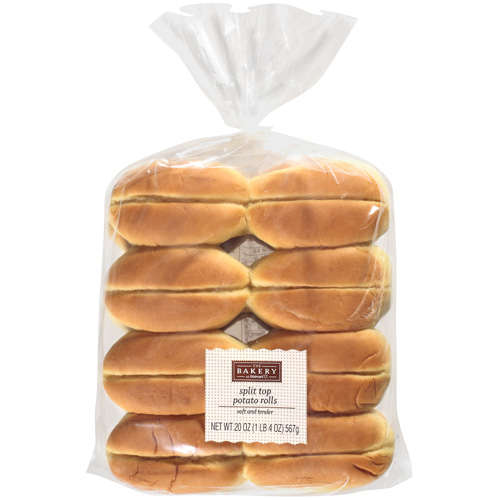 The Bakery At Walmart Split Top Potato Rolls, 20 oz