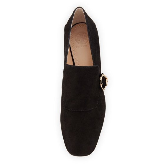 51c934624eb Tory Burch - Tory Burch Womens Tess Loafer Leather Square Toe ...