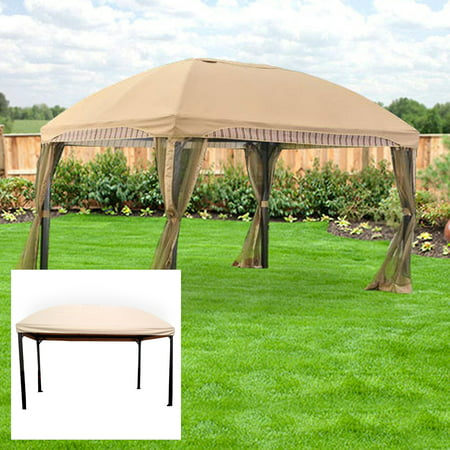 Garden Winds Replacement Canopy Top For The Menards Domed Gazebo  Beige