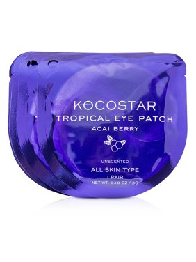 KOCOSTAR Tropical Eye Patch Unscented - Acai Berry (Individually packed)  10pairs