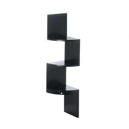Small Corner Shelf Wall Mount, Corner Storage Shelf Unit, Made Of Mdf Wood