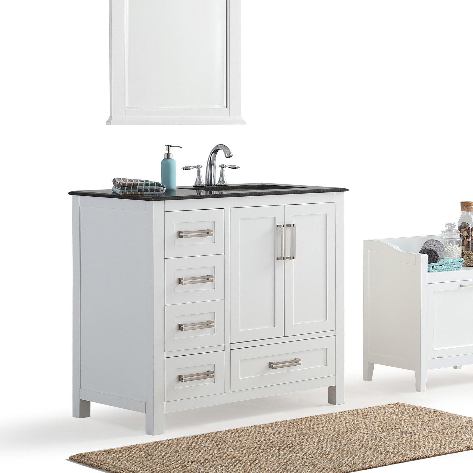 Simpli Home Evan 36 Bath Vanity With