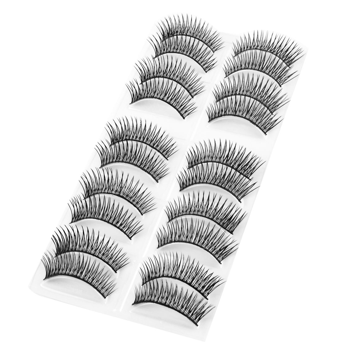 Long Thick False Eyelashes Fake Lashes Extension 10 Pairs