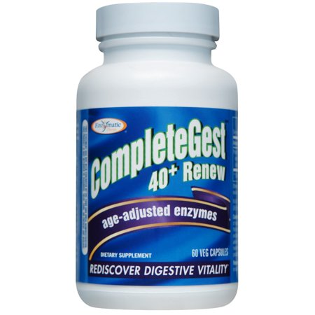 - Enzymatic Therapy CompleteGest 40+ Renew Vegetarian Capsules, 60 Ct