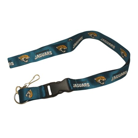 (Jacksonville Jaguars Official NFL 24 inch  Breakaway Lanyard Key Chain Keychain by Pro Specialties Group)