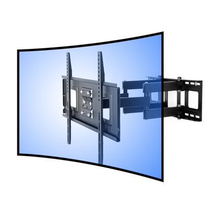 Fleximounts Curved Tv Wall Mount Bracket For 32 65 Inch Curved Tv With Max 600x400mm Wall Mount Plate Vesa Size