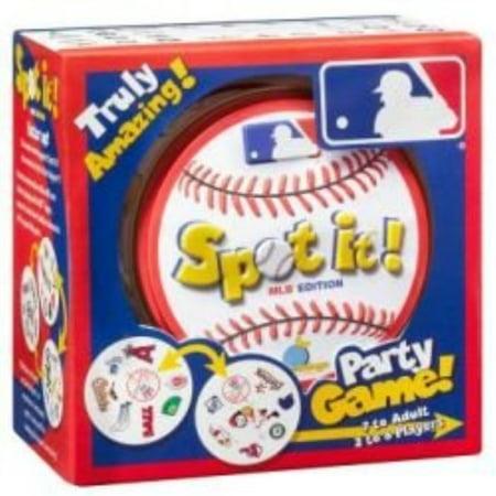 Spot It Major League Baseball Party Game - Ou Halloween Baseball Game