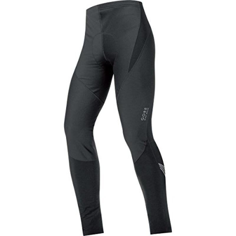 GORE BIKE WEAR Men's Element WINDSTOPPER Soft Shell Tights+, Black, Large by