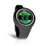 NEW Pyle PATW19BK Go Sport Multi-Function Sports Training Watch Pedometer Timer
