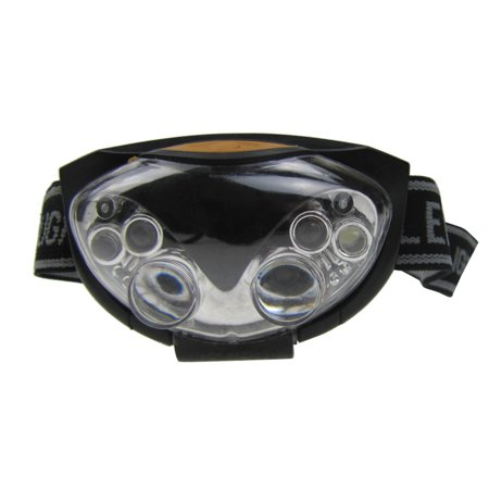 iLH Hot Sale Practical Outdoor Hiking Exploration 3 Modes 6 LED Bright Head Lamp Light Torch Headlamp