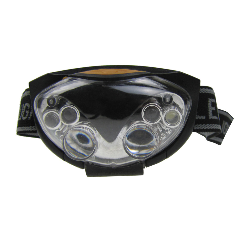 Hot Sale Practical Outdoor Hiking Exploration 3 Modes 6 LED Bright Head Lamp Light Torch Headlamp Headlight
