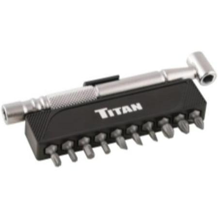 Offset Drill (Titan 16091 11pc Offset Bit Driver )