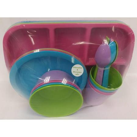 Mainstays Girl Dinnerware Set