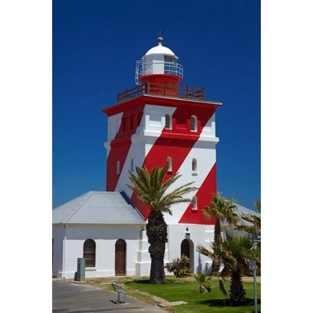 Mouille Point Lighthouse  1824  Cape Town South Africa Canvas Art   David Wall  Danitadelimont  18 X 24