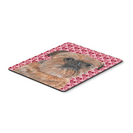 Brussels Griffon Valentine's Love Mouse Pad, Hot Pad or Trivet