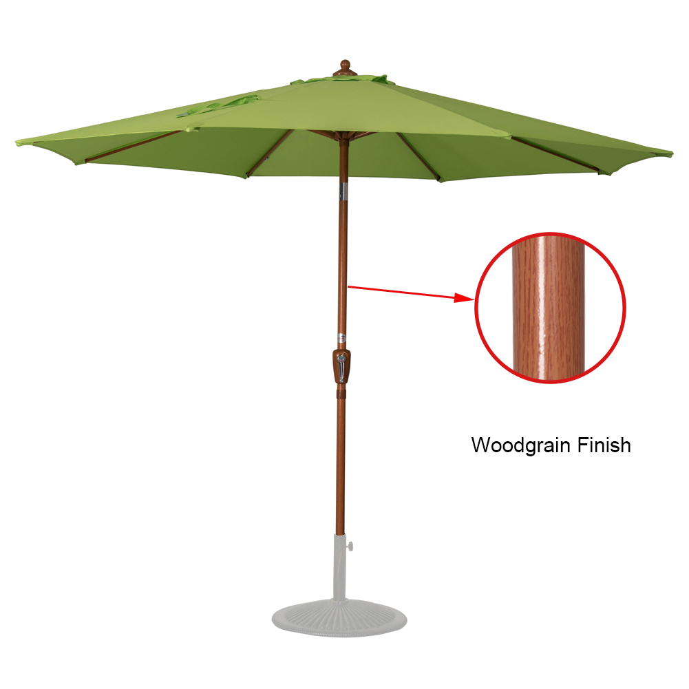 Sundale Outdoor 9 Feet Outdoor Patio Umbrella with Push Button Tilt and Crank Aliminum... by Sundale Outdoor