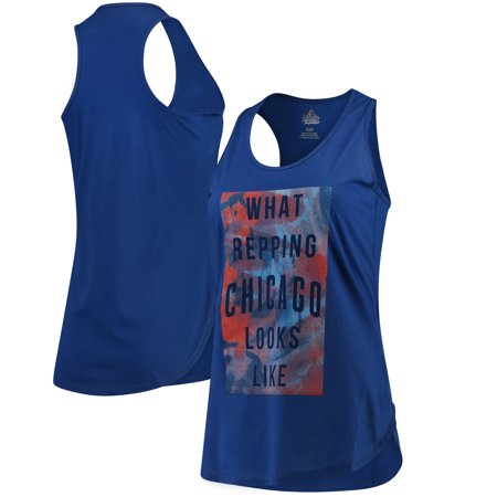 Chicago Cubs Majestic Women's All Day Long Tank Top - Royal