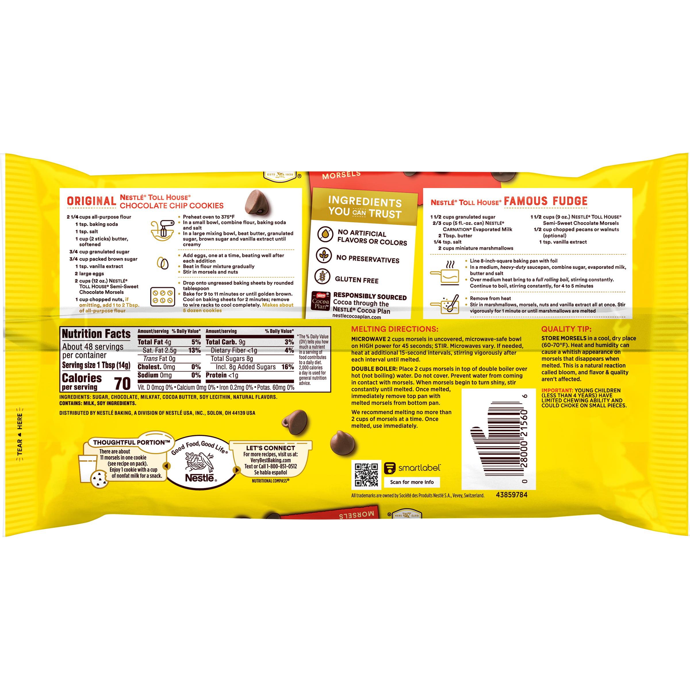 Semi-Sweet Chocolate Chip Morsels