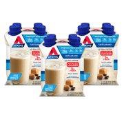 Atkins Gluten Free Protein-Rich Shake, Café Caramel, Keto Friendly, 12 Count (Ready to Drink)