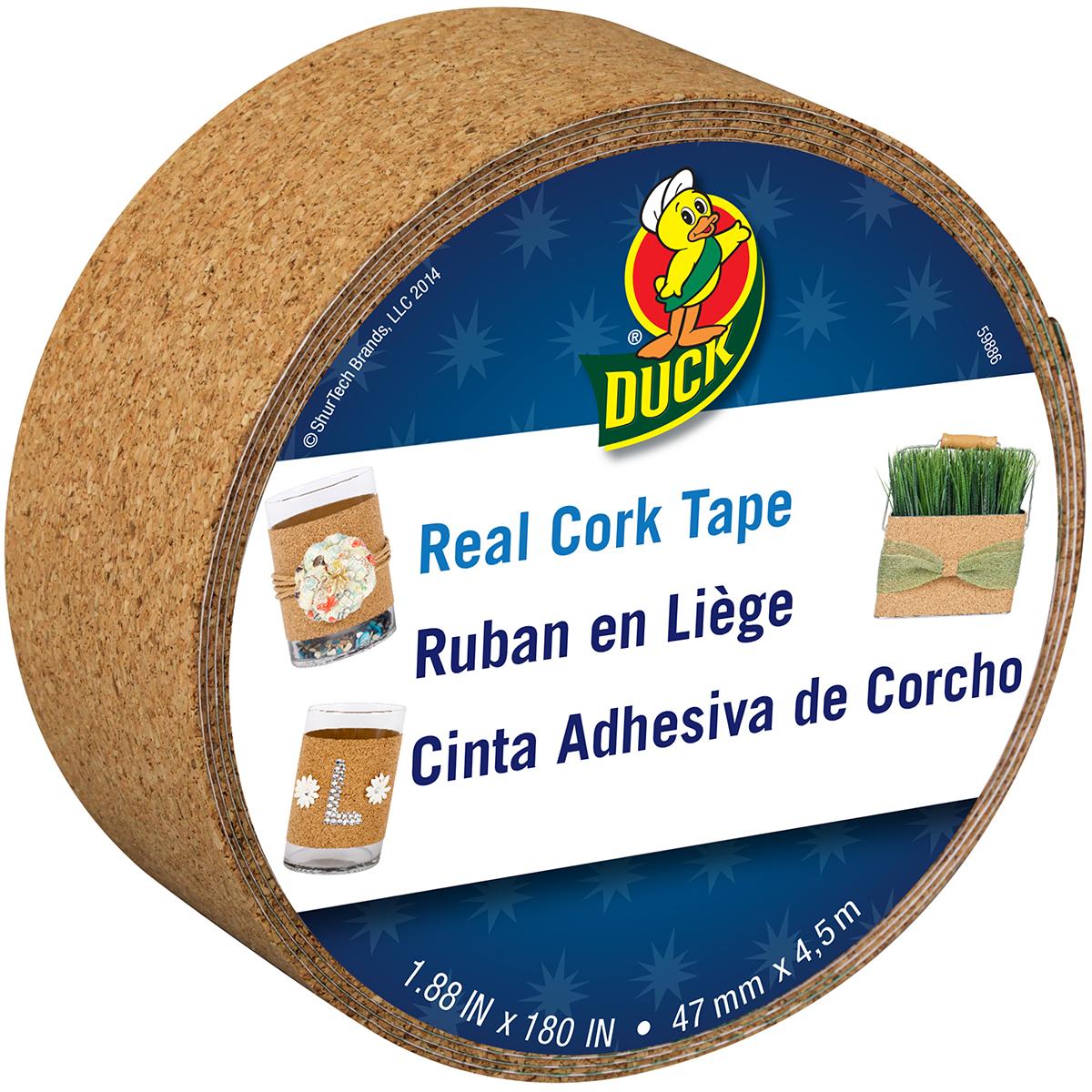 "Cork Duck Tape 1.88""X15' Natural"