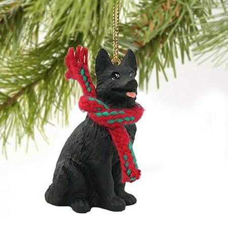 Conversation Concepts Black German Shepherd Miniature Dog Ornament