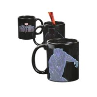Classic Imports Black Panther Heat Change Mug - Marvel's Avengers Hero Appears when Hot Liquid Is Added to Cup