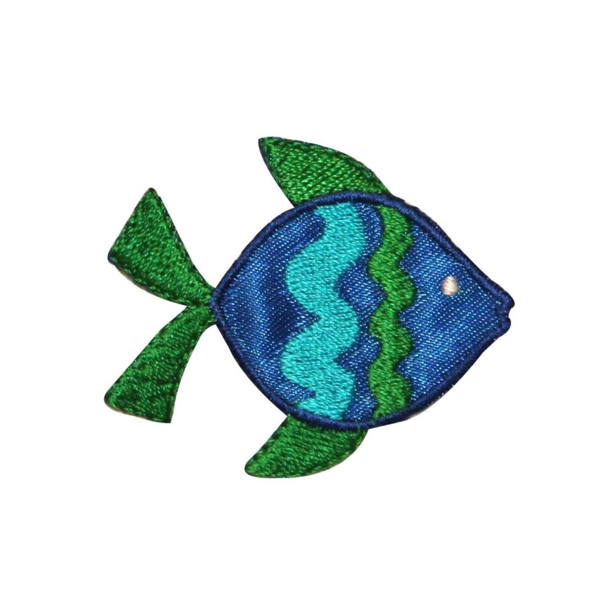 ID 0218 Tropical Snapper Fish Emblem Patch Ocean Fishing DIY Iron On Applique