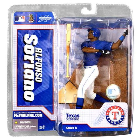 McFarlane MLB Sports Picks Series 11 Alfonso Soriano Action Figure [Blue Jersey]