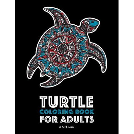 Turtle Coloring Book for Adults - Walmart.com