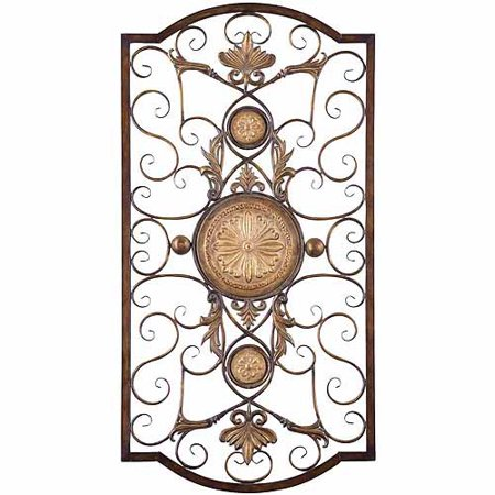 Lauryn large metal wall art for Walmart art decor