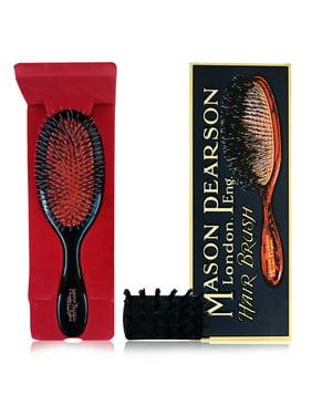Mason Pearson Handy Mixed Bristle Dark Ruby Brush
