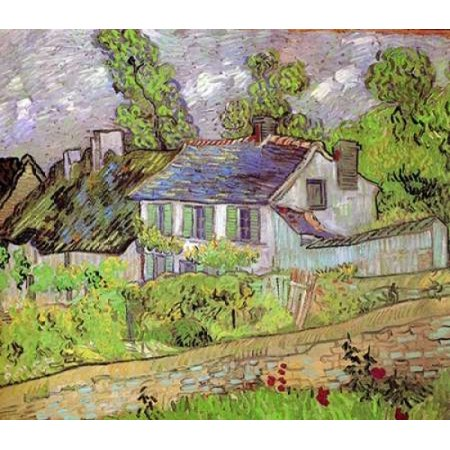 House In Auvers Poster Print by  Vincent Van Gogh Auvers Poster Print