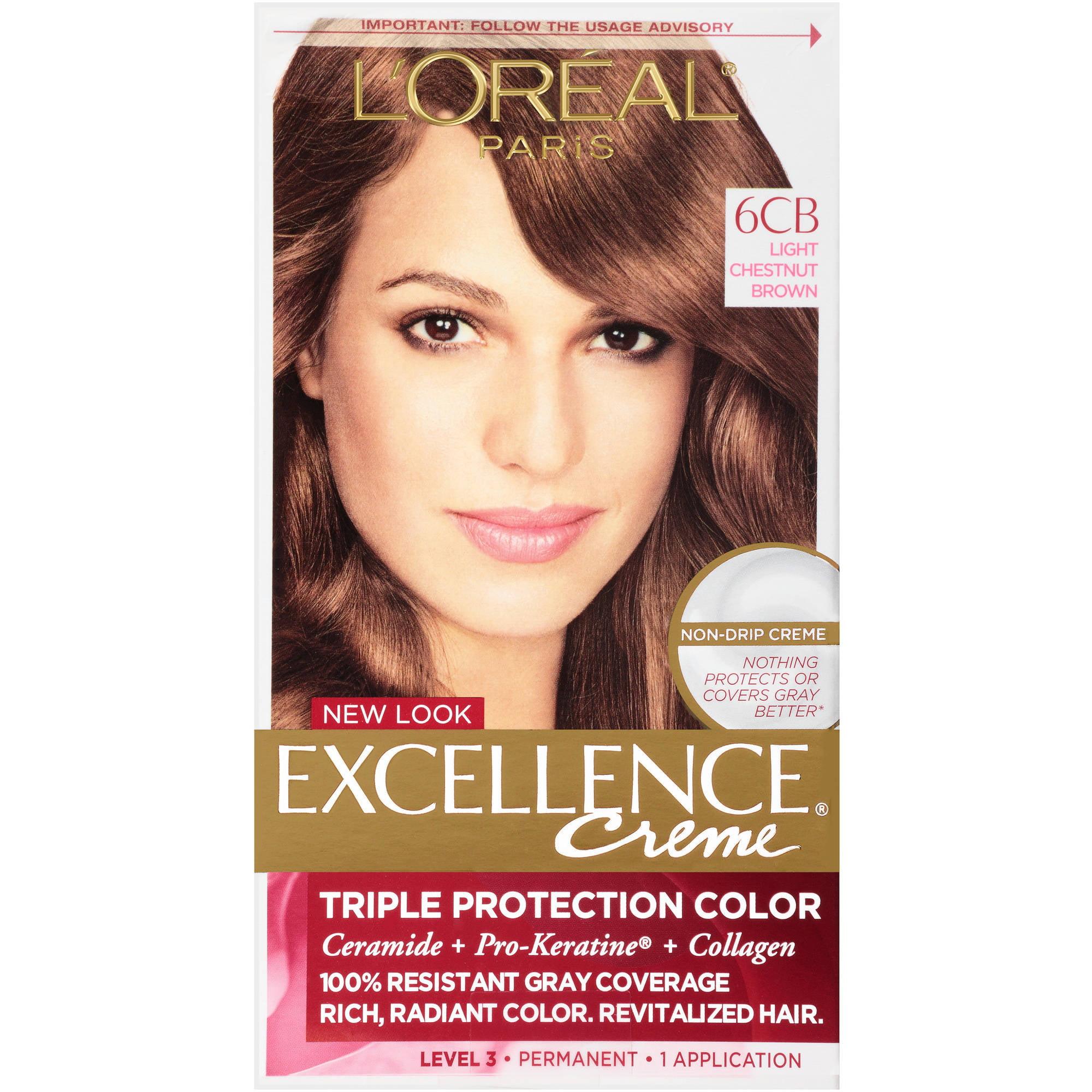 L'Oreal Paris Excellence Non-Drip Creme Triple Protection Color