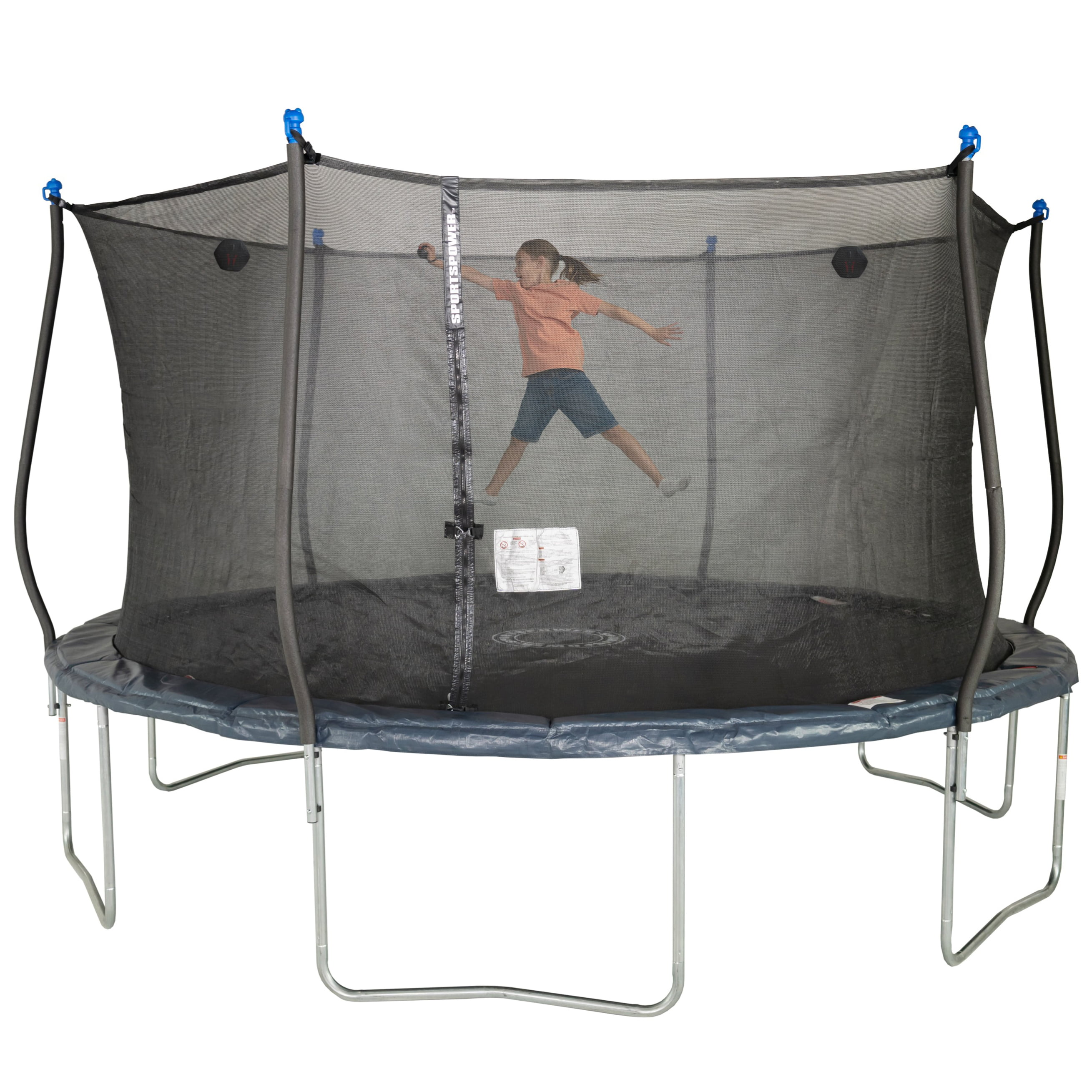 Upper Bounce Breathable Replacement Trampoline Safety Net Enclosure BouncePro for 12ft 14ft 15ft Skywalker JumpKing and Many More Net Only Walmart Tear and Weather-Resistant