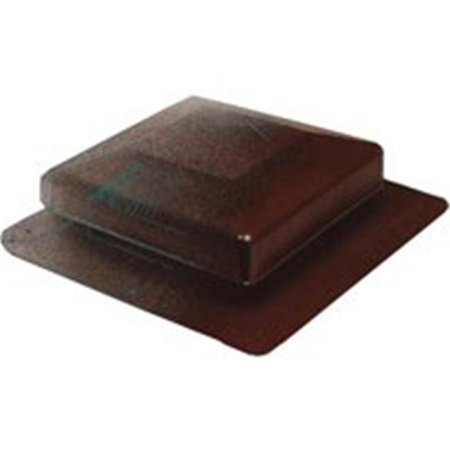 6075BR Universal Roof Vent, Brown Brown Roof Vent