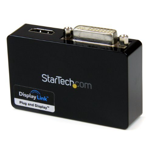 StarTech USB 3.0 to HDMI and DVI Dual Monitor External Video Card Adapter by StarTech