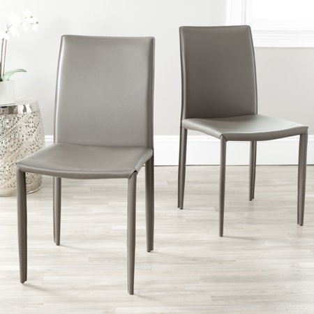 Safavieh Karna Modern Fully Upholstered Dining Chair Set Of 2