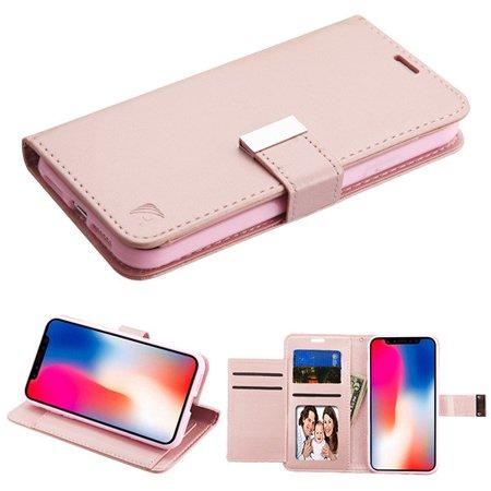 iphone xr flip phone case rose gold