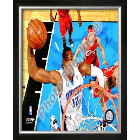 Dwight Howard - '09 Playoffs Framed Photographic Print Wall Art  - 22.5x16