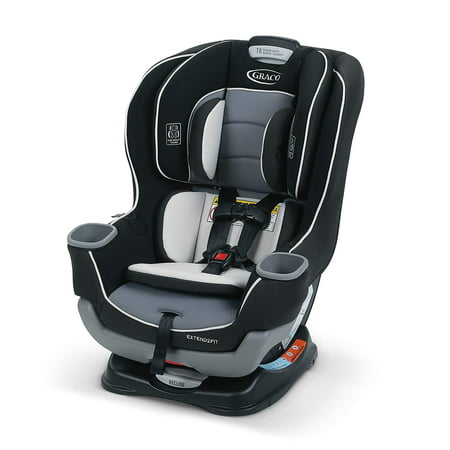 Graco Extend2Fit Convertible Car Seat, Ride Rear-Facing Longer, Gotham