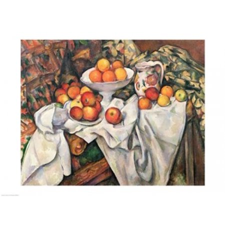 - Apples and Oranges Poster Print by Paul Cezanne