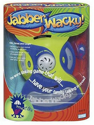 Electronic JabberWacky ! Game By Hasbro by