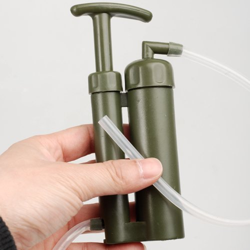 OKEBA Portable Soldier Water Filter Water Purifier for Hiking Camping Fishing Hunting by