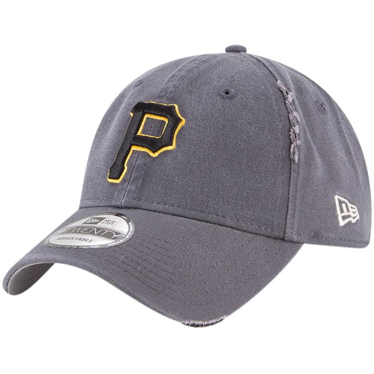 Pittsburgh Pirates New Era Rip Right 9TWENTY Adjustable Hat - Gray - OSFA