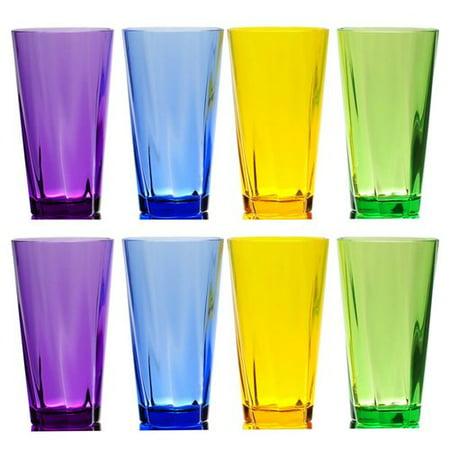 21 Oz Working Glass (Ivy Bronx Fulford Break-Resistant 8 Piece 21 oz. Plastic/Acrylic Every Day Glass)